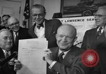 Image of President Dwight Eisenhower Washington DC USA, 1954, second 9 stock footage video 65675044780