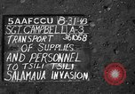Image of Salamaua invasion Tsili Tsili New Guinea, 1943, second 4 stock footage video 65675044785