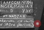 Image of 7th Australian Division Nadzab New Guinea, 1943, second 2 stock footage video 65675044786