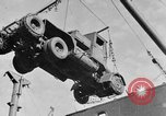 Image of truck unloaded Algiers Algeria, 1943, second 1 stock footage video 65675044803