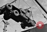 Image of truck unloaded Algiers Algeria, 1943, second 2 stock footage video 65675044803