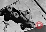 Image of truck unloaded Algiers Algeria, 1943, second 3 stock footage video 65675044803