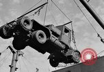 Image of truck unloaded Algiers Algeria, 1943, second 4 stock footage video 65675044803
