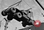 Image of truck unloaded Algiers Algeria, 1943, second 5 stock footage video 65675044803