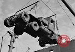 Image of truck unloaded Algiers Algeria, 1943, second 6 stock footage video 65675044803