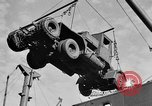 Image of truck unloaded Algiers Algeria, 1943, second 7 stock footage video 65675044803