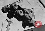 Image of truck unloaded Algiers Algeria, 1943, second 8 stock footage video 65675044803