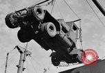 Image of truck unloaded Algiers Algeria, 1943, second 9 stock footage video 65675044803