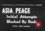 Image of UN seeks Korea and Indochina peace Geneva Switzerland, 1954, second 1 stock footage video 65675044814