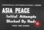 Image of UN seeks Korea and Indochina peace Geneva Switzerland, 1954, second 2 stock footage video 65675044814