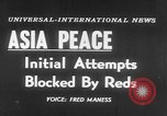 Image of UN seeks Korea and Indochina peace Geneva Switzerland, 1954, second 3 stock footage video 65675044814