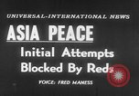 Image of UN seeks Korea and Indochina peace Geneva Switzerland, 1954, second 5 stock footage video 65675044814