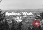 Image of civil self defense exercise Spokane Washington USA, 1954, second 2 stock footage video 65675044816