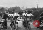 Image of motorcycle mud race Seattle Washington USA, 1954, second 3 stock footage video 65675044819
