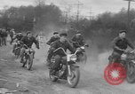 Image of motorcycle mud race Seattle Washington USA, 1954, second 10 stock footage video 65675044819