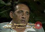 Image of battle for democracy El Salvador, 1983, second 3 stock footage video 65675044837