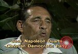 Image of battle for democracy El Salvador, 1983, second 4 stock footage video 65675044837