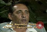 Image of battle for democracy El Salvador, 1983, second 5 stock footage video 65675044837