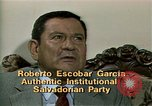 Image of battle for democracy El Salvador, 1983, second 3 stock footage video 65675044839