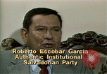 Image of battle for democracy El Salvador, 1983, second 4 stock footage video 65675044839