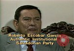 Image of battle for democracy El Salvador, 1983, second 5 stock footage video 65675044839