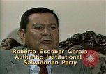 Image of battle for democracy El Salvador, 1983, second 6 stock footage video 65675044839