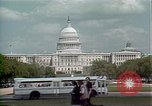 Image of patent pending model exhibit Washington DC USA, 1986, second 10 stock footage video 65675044844