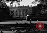 Image of White House Washington DC USA, 1949, second 10 stock footage video 65675044859