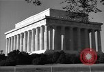 Image of Abraham Lincoln Memorial Washington DC USA, 1949, second 7 stock footage video 65675044860