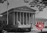 Image of U.S. Supreme Court Building Washington DC USA, 1951, second 3 stock footage video 65675044861