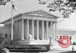 Image of U.S. Supreme Court Building Washington DC USA, 1951, second 4 stock footage video 65675044861