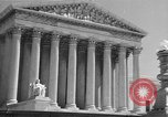 Image of U.S. Supreme Court Building Washington DC USA, 1951, second 5 stock footage video 65675044861