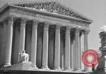 Image of U.S. Supreme Court Building Washington DC USA, 1951, second 6 stock footage video 65675044861