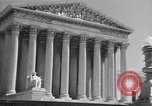 Image of U.S. Supreme Court Building Washington DC USA, 1951, second 7 stock footage video 65675044861