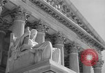 Image of U.S. Supreme Court Building Washington DC USA, 1951, second 9 stock footage video 65675044861