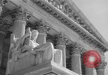 Image of U.S. Supreme Court Building Washington DC USA, 1951, second 10 stock footage video 65675044861