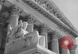 Image of U.S. Supreme Court Building Washington DC USA, 1951, second 11 stock footage video 65675044861