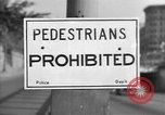 Image of Traffic signs Washington DC USA, 1949, second 1 stock footage video 65675044864