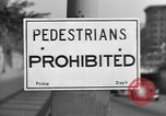 Image of Traffic signs Washington DC USA, 1949, second 2 stock footage video 65675044864