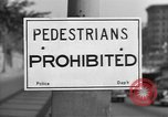 Image of Traffic signs Washington DC USA, 1949, second 4 stock footage video 65675044864