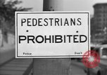 Image of Traffic signs Washington DC USA, 1949, second 6 stock footage video 65675044864