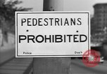 Image of Traffic signs Washington DC USA, 1949, second 7 stock footage video 65675044864