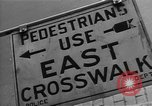Image of Traffic signs Washington DC USA, 1949, second 8 stock footage video 65675044864