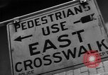 Image of Traffic signs Washington DC USA, 1949, second 9 stock footage video 65675044864