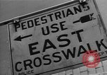 Image of Traffic signs Washington DC USA, 1949, second 10 stock footage video 65675044864