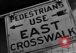 Image of Traffic signs Washington DC USA, 1949, second 11 stock footage video 65675044864