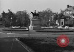 Image of Equestrian statue Washington DC USA, 1949, second 1 stock footage video 65675044867