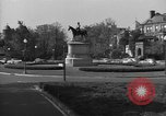 Image of Equestrian statue Washington DC USA, 1949, second 2 stock footage video 65675044867