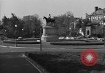Image of Equestrian statue Washington DC USA, 1949, second 4 stock footage video 65675044867