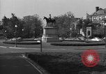 Image of Equestrian statue Washington DC USA, 1949, second 7 stock footage video 65675044867